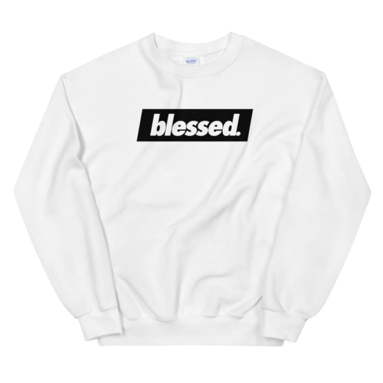 Blessed Sweater - The Legendary LGNDARY #LGNDARY Brand Merch Apparel Clothing